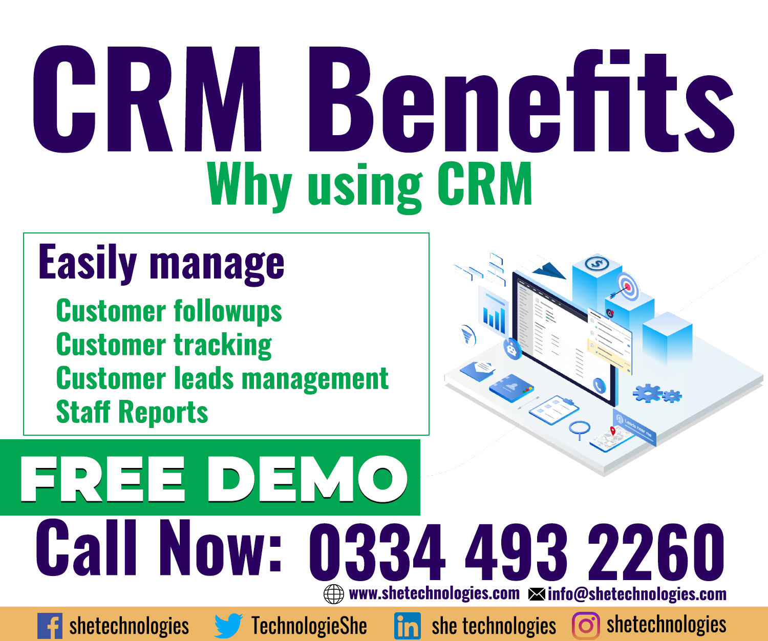 CRM Software Benefits in Pakistan
